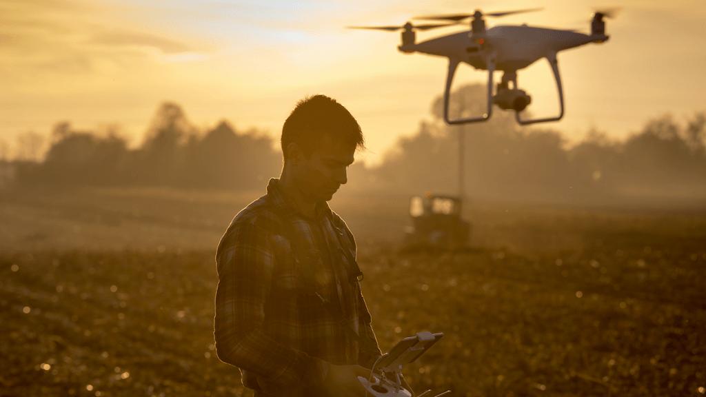 Crop health drone AI