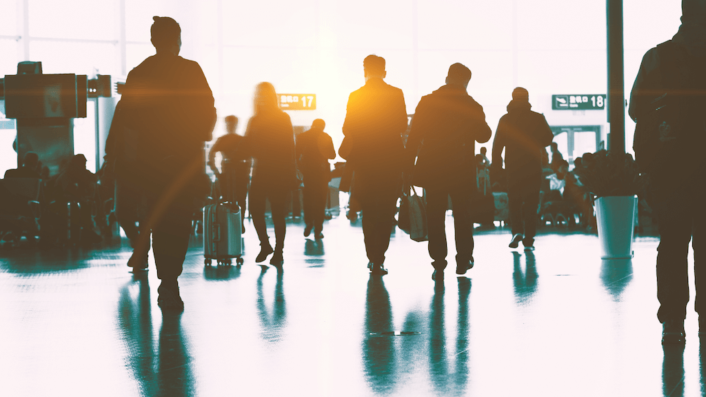 Optimizing passenger flow AI
