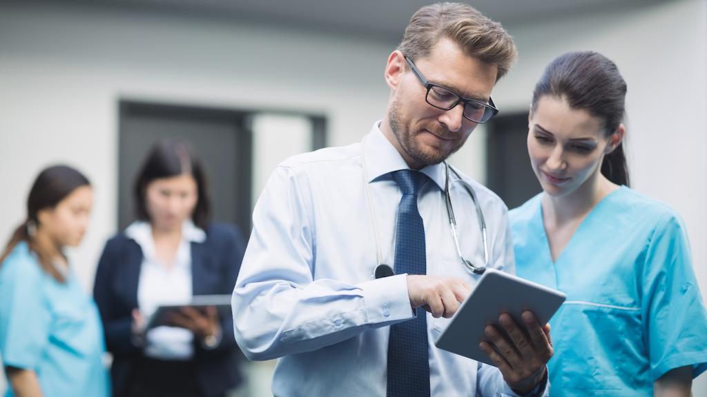 AI healthcare sector